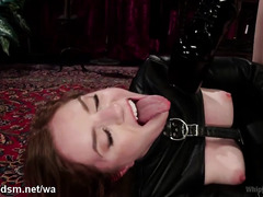 Blondes in scenes of submissive BDSM in rough XXX scenes