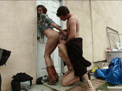Good girl Chastity Lynn is turned into the ultimate cock slut by hillbillies