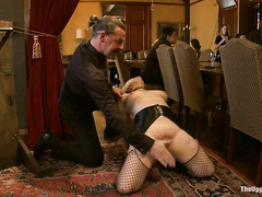 There is plenty of hardcore and raunchy action at this dirty BDSM party