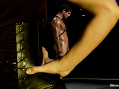 Bobbi Starr uses a variety of methods to humiliate and dominate this stud
