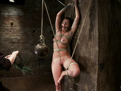 There's lots of pain and bondage in store for lovely Missy Minks