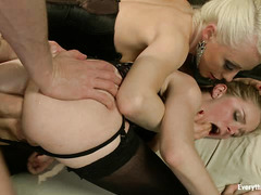 Penny Pax and Lorelei Lee get their asses licked, fingered and fisted