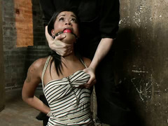 Skin Diamond pushed to her breaking point in intense bondage session