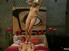 Lorelei Lee completely and utterly dominates and fucks Drake Temple