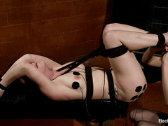 Katie St. Ives is tickled and shocked into submission by a cunning Domme