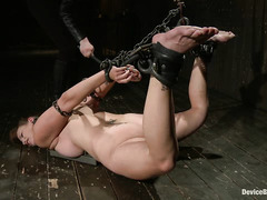 Bella Rossi experiences extreme titty torture and multiple orgasms
