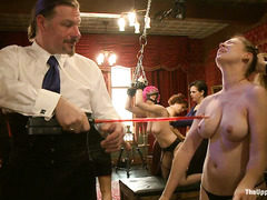 A BDSM party means lots of pain and orgasms for these gorgeous slaves