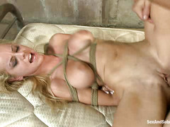 Hot model Jessie Rogers is lured by her biggest fan and brutally fucked