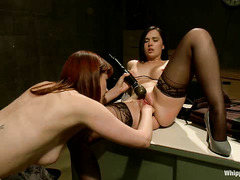Maitresse Madeline seduces and torments her lawyer with toys and pain