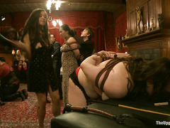 Slaves and Masters show what they're thankful for at a big party