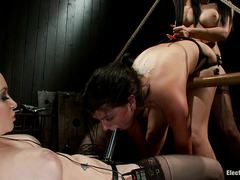 Cassandra Nix is used by sexy lesbians who love playing with electricity