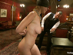 Constant whipping is what Audrey Rose comes to know during slave training