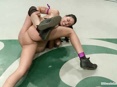 Beretta James and Lyla Storm pull no punches during intense wrestling