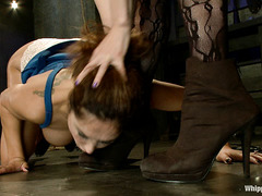 Francesca Le is humiliated and abused by lovely Maitresse Madeline