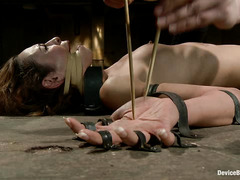 Whips, clamps and orgasms push Amber Rayne to the absolute edge