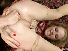 Penny Pax, Chanel Preston and Lorelei Lee fuck each other's assholes