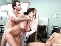 Office worker Ava Addams can't escape the grasps of her male co-workers