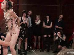 Pretty slut Kristine Kahill experiences complete humiliation and degradation