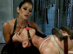 Felony has her hands full with two submissive honeys who need punishment