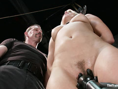First-time slave Anikka Albrite is shown no mercy during her training