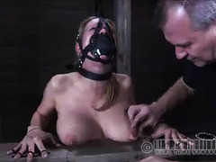 Poor slave girl endures the worst pain at the hands of her Masters