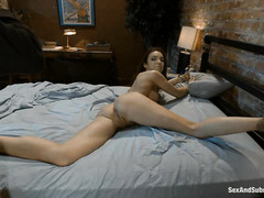 Tiffany Tyler confesses to her dirtiest, roughest fantasies of bound sex