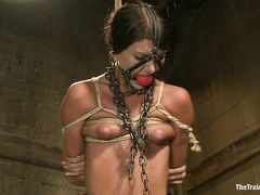 The training of Cassandra Nix involves a lot of whipping and fucking
