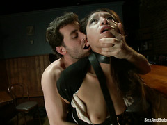 Struggling maid Vicki Chase is taken advantage of by James Deen