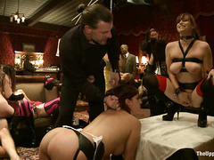 This kinky New Year's party is full of sex, spanking and domination