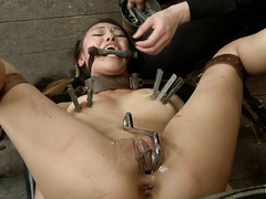 Tormented cutie Jayden Lee begs her cruel Mistress for mercy