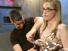 Penny Pax screams as her body is assaulted with pleasure and pain