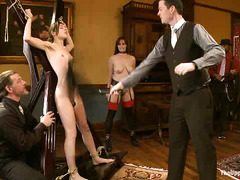 Newbie Kristine Kahill learns what it is to be an eager submissive