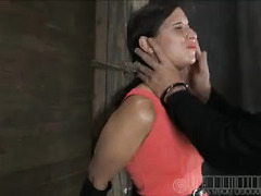 A defiant bitch is punished until she learns how to submit to her Master