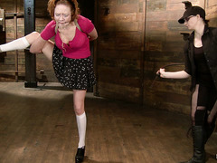 Audrey Hollander's Mistress puts her in a variety of hard positions
