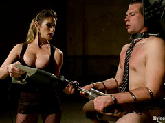 John Jammen is completely and utterly dominated by Mistress Felony