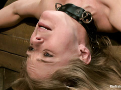 Penny Pax is pushed to her limits during a slave training session