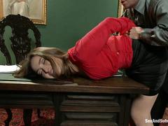 Dani Daniels is taken advantage of by her new, creepy boss