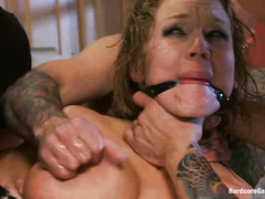 Nikki Sexx is punished through gangbang for her cheating ways