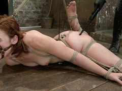 Fiery redhead Jodi Taylor's petulance is doused by her Mistress