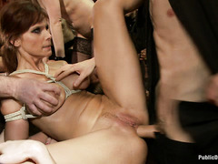 Princess Donna Dolore celebrates her birthday with a hardcore orgy