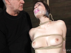 Two Doms take turns abusing this sweet babe's hot and willing body