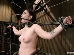 Andy San Dimas has her pretty little cunt punished relentlessly