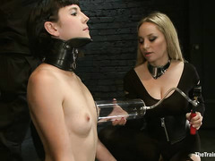 Coral Aorta faces her toughest slave lesson with Aiden Starr
