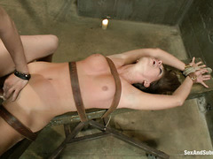 Rilynn Rae gets turned on by the rough way she's handled during sex