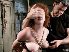 Party girl Audrey Hollander is put in place with a shock stick