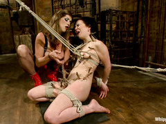 Juliette March has her body teased and tormented by Felony