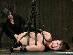 Japanese sex starlet Marica Hase is dominated by Claire Adams