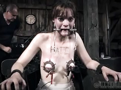 Hazel Hypnotic's bondage session is much more than she expected