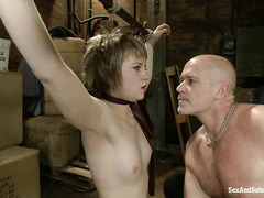 Alani Pi is made to submit and fuck by her best friend's crazed dad