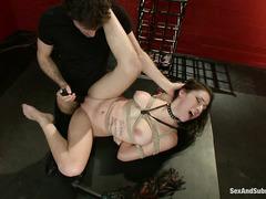 Luna C. Kitsuen has a fantasy about being a submissive slave